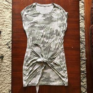 Aerie Tie Front Dress